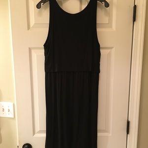 GAP Dresses - Gap Black Nursing Tank Dress